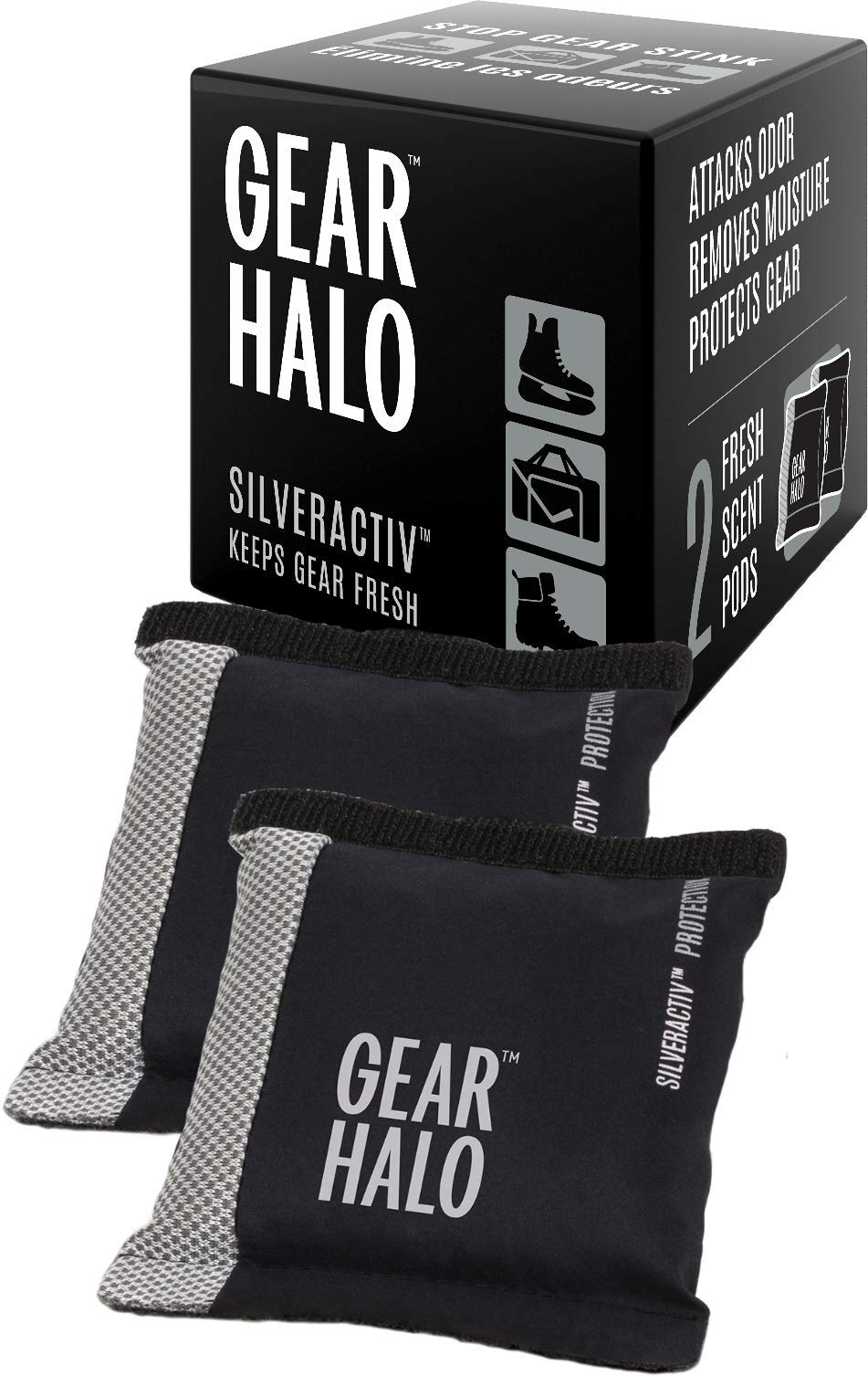 Gearhalo Deodorizer Pods - Stops the Stink!