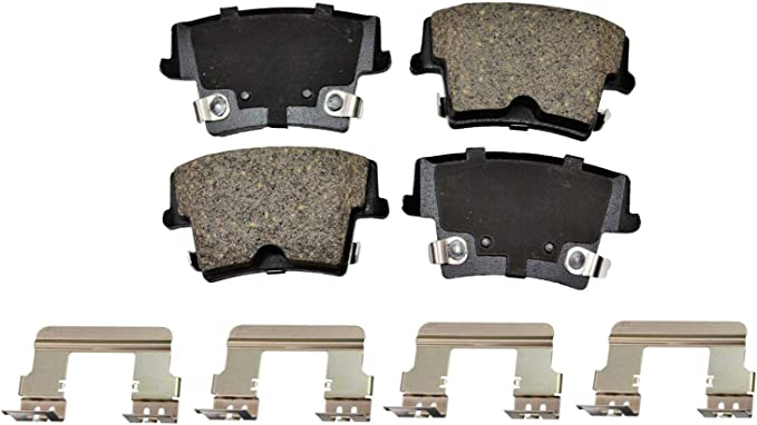 Bosch BE1056H Blue Disc Brake Pad Set with Hardware