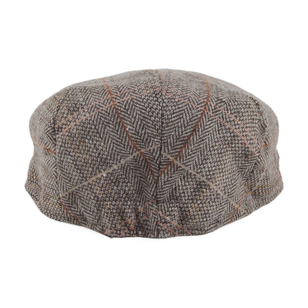9ccee42de2451 Jaxon & James Kids Tweed Flat Cap - Brown-Grey
