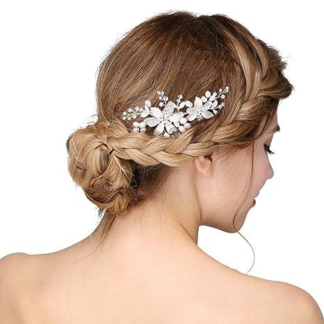 Accessoires cheveux bande de cheveux peigne cheveux vintage mariée clips  cheveux cristal strass cheveux perles strass