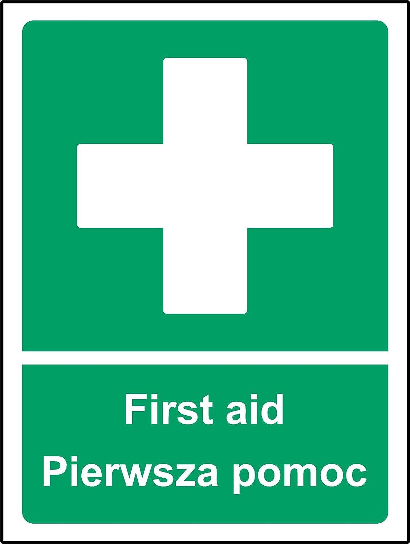 multilingue Signes de premiers secours polonais et anglais ...