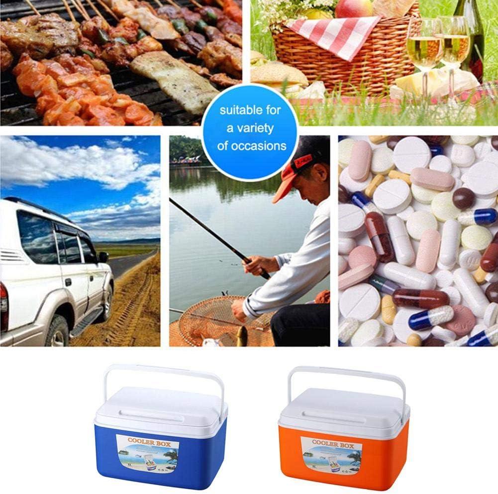 Portable Incubateur Ext/érieur Bo/îte Froide De Voiture Bo/îte De Conservation des Aliments Dubleir Glaci/ère Rigide 5L