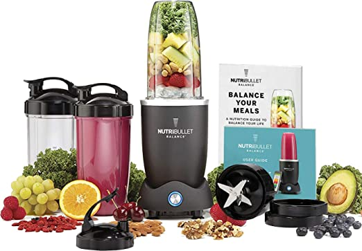 Licuadora inteligente NutriBullet Balance con Bluetooth: Amazon.es ...