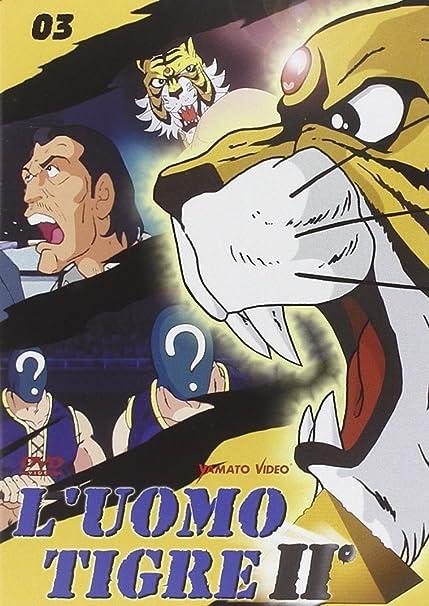 Luomo tigre ii vol.3: amazon.co.uk: cartoni animati: dvd & blu ray