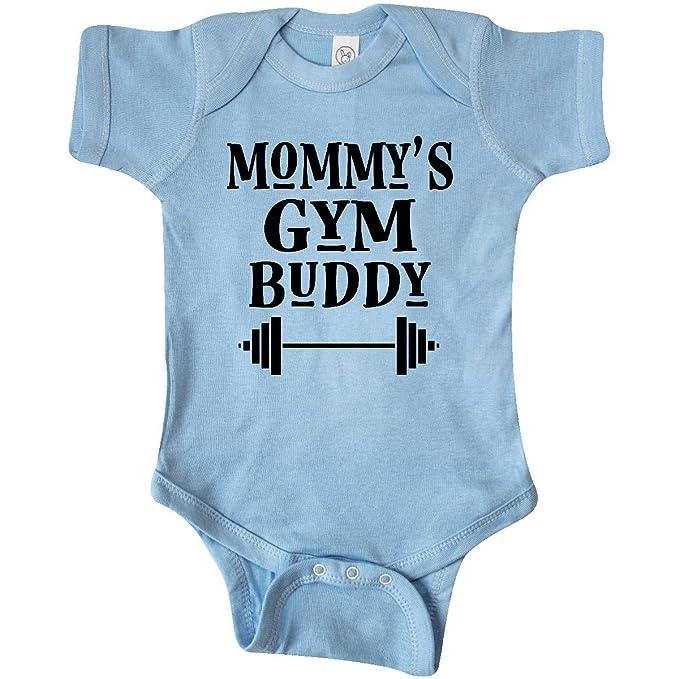 c7be1e328 Amazon.com  inktastic - Mommy Gym Buddy Workout Infant Creeper 2e1d9 ...