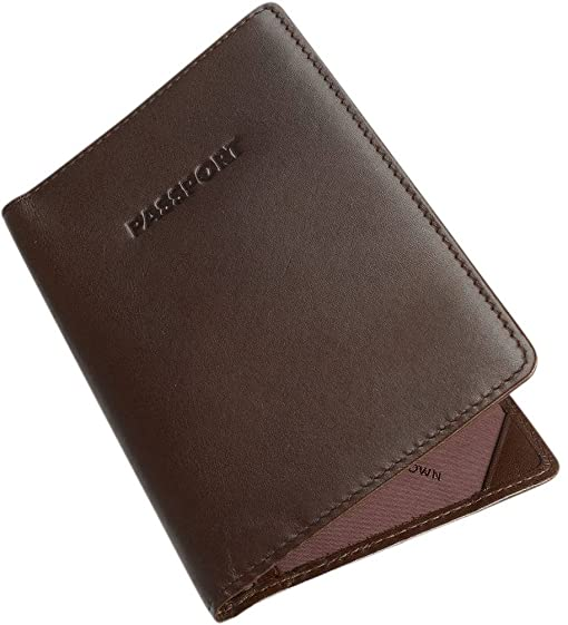 Leather Passport Cover by Byron and Brown B00DGM5UTU