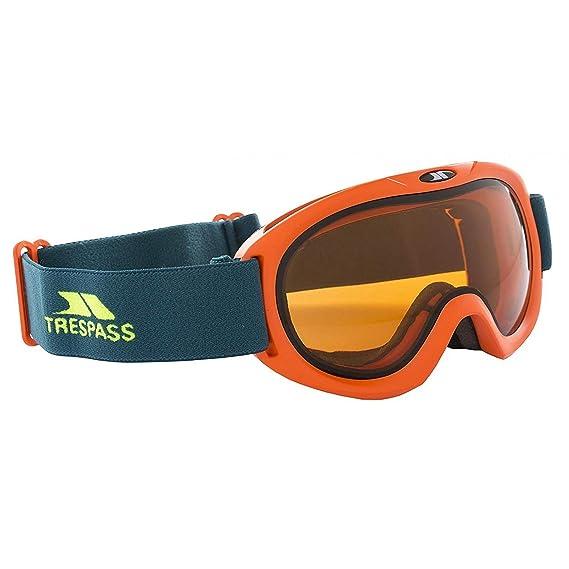 18fb5f1b5e69d Trespass - Masque de ski HIJINX - Enfant (Taille unique) (Bleu orange)   Amazon.fr  Vêtements et accessoires