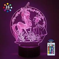 CITOY Luz Nocturna LED Regulable en 3D