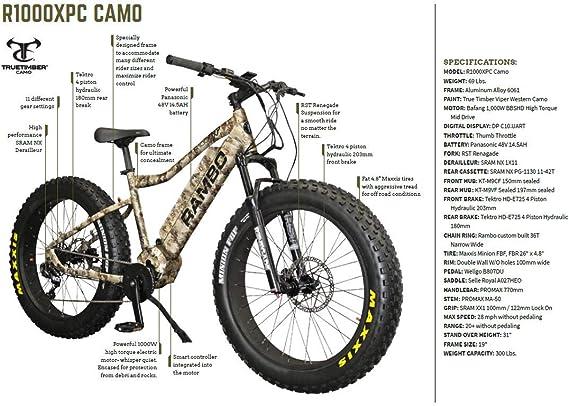 Rambo 2019 Xtreme Performance True Timber Viper Bicicleta ...