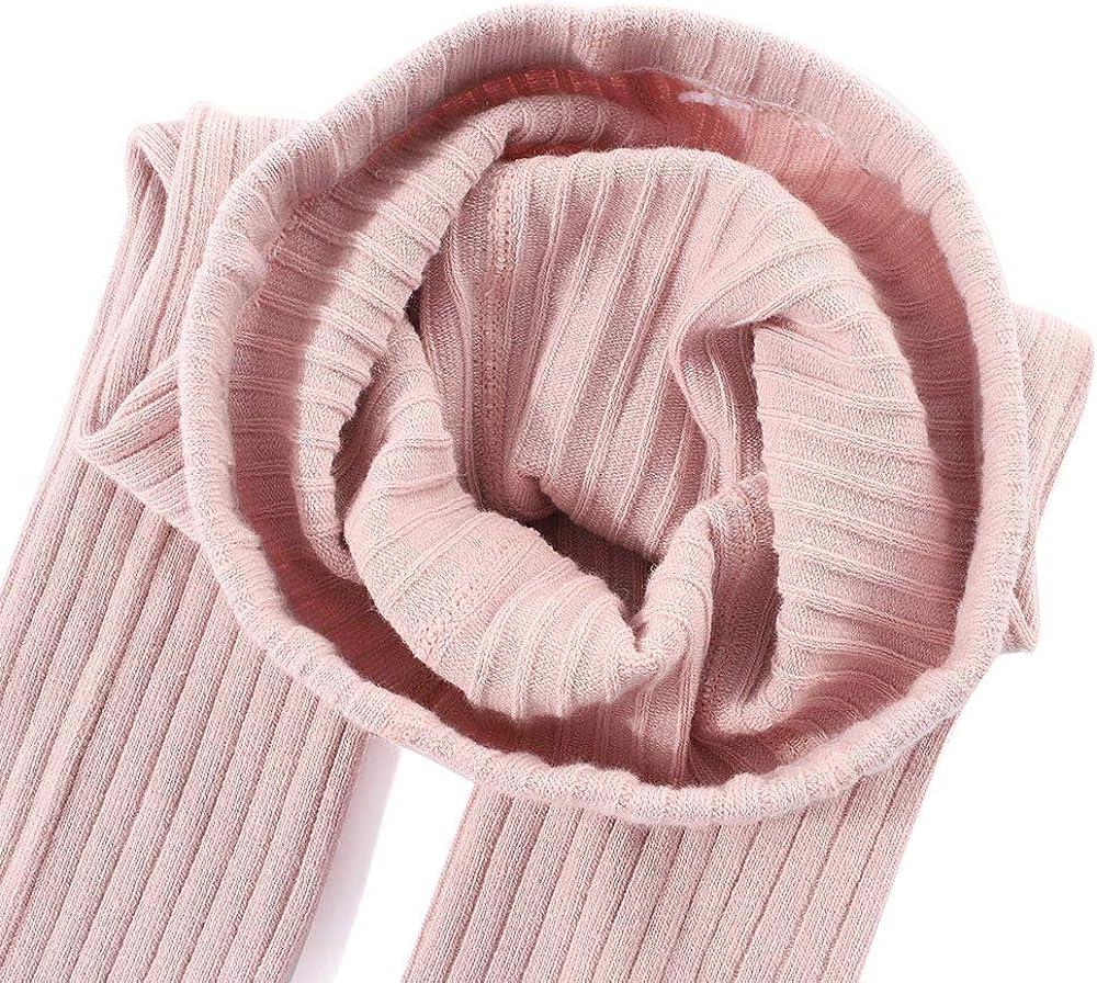MK Matt Keely in cotone et/à da 1 a 12 anni calze termiche per bambine lavorata a maglia Calzamaglia termica per la scuola 2 pezzi