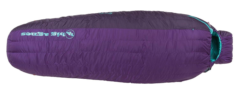 Big Agnes Roxy Ann 15 Sleeping Bag – Women 's B01N4D9JR3  パープル Petite Right
