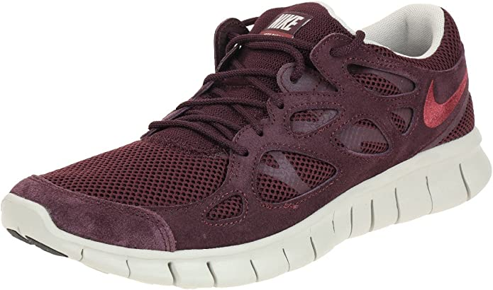 Nike Free Run 2 NSW – Runner – bajo Top Zapatillas – Rot/grau-42.5 ...