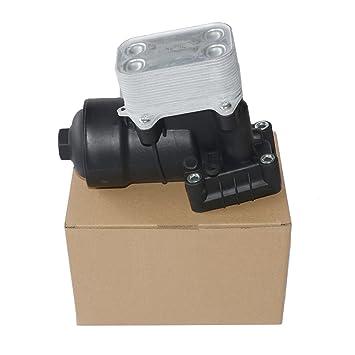 Radiador de la carcasa del filtro de aceite 03L115389C 03L115389B 03L115389H