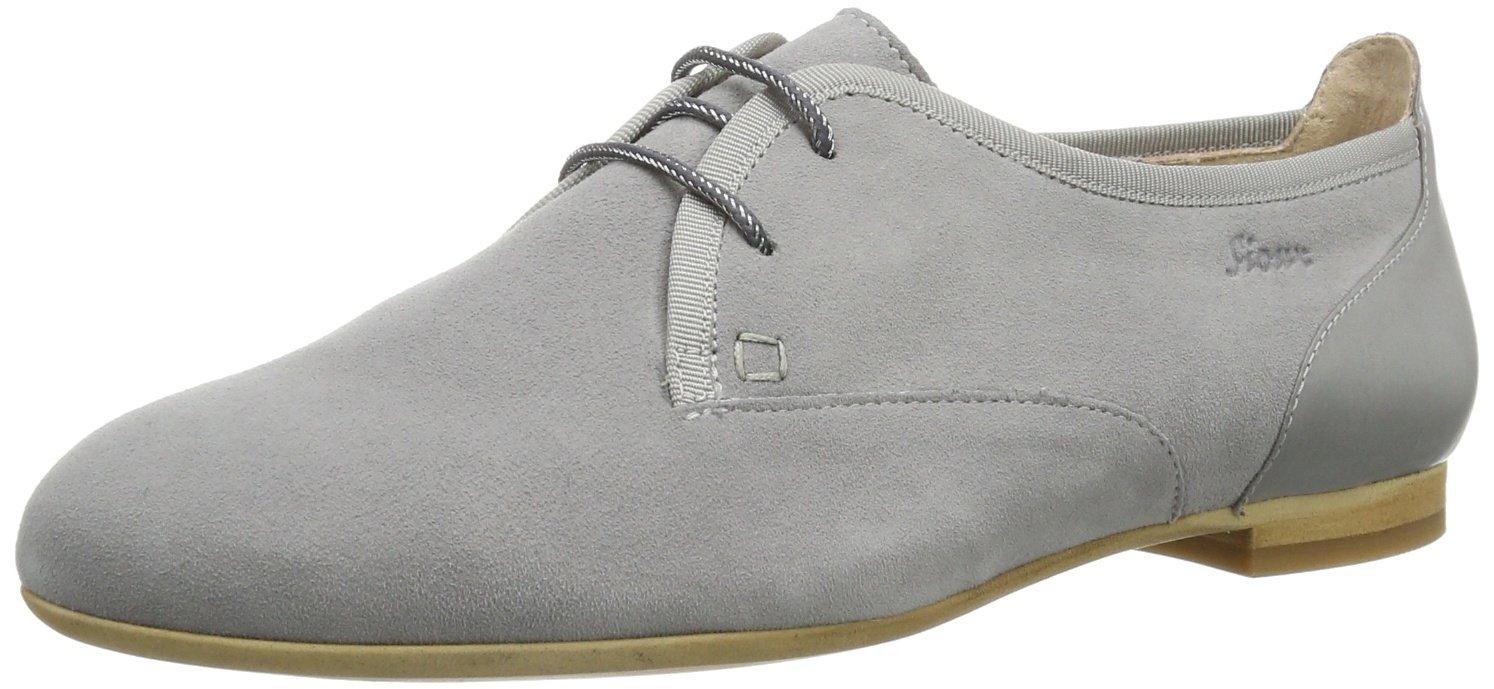 Sioux Gimeni 55102 - Zapatos de cuero para mujer 37.5 EU|Gris (Grau (Steel))