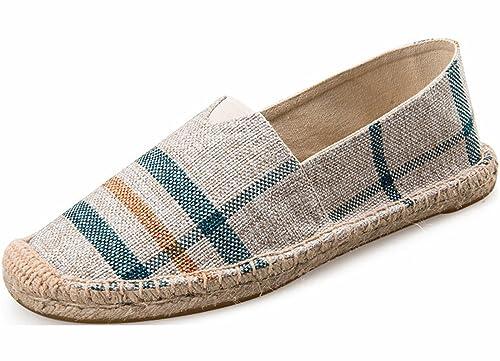 YOSICIL - alpargatas mujer , color gris, talla 39: Amazon.es: Zapatos y complementos