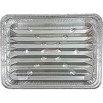 Amazon Com Pack Of 15 Aluminum Square Baking Pans
