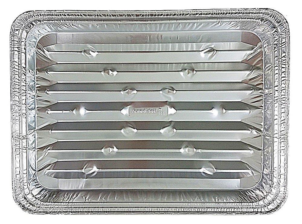 Handi-Foil Disposable Aluminum Foil Broiler Baking Cooking Pan - HFA REF # 333 (200)