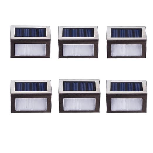 2 opinioni per Lightess Lampada Solare Esterno da Giardino con Sensore Lampada Impermeabile per
