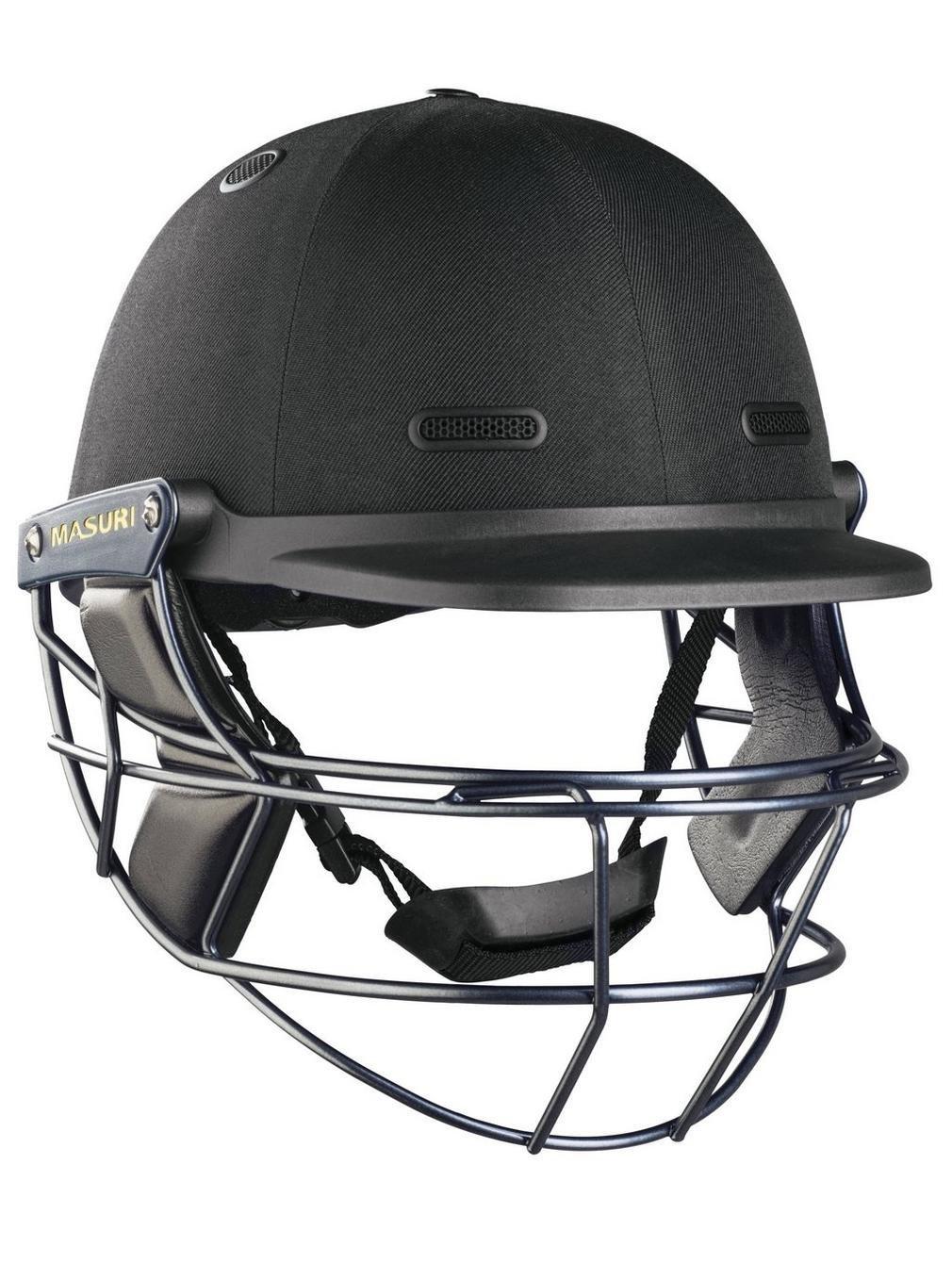 Masuri M-VSTSSB Vision Series Test Steel Cricket Helmet