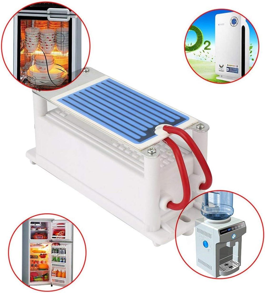 LoveOlvidoIT 220V Mini generatore di ozono Integrato in Ceramica Ozonizzatore Aria Macchina della Famiglia Fai da Te purificatore dAria Eliminazione di odori