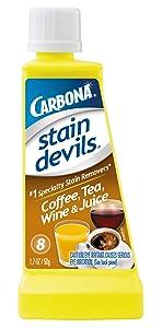 Carbona Stain Devils #8 Wine, Tea, Coffee & Juice, 1.7 Ounce
