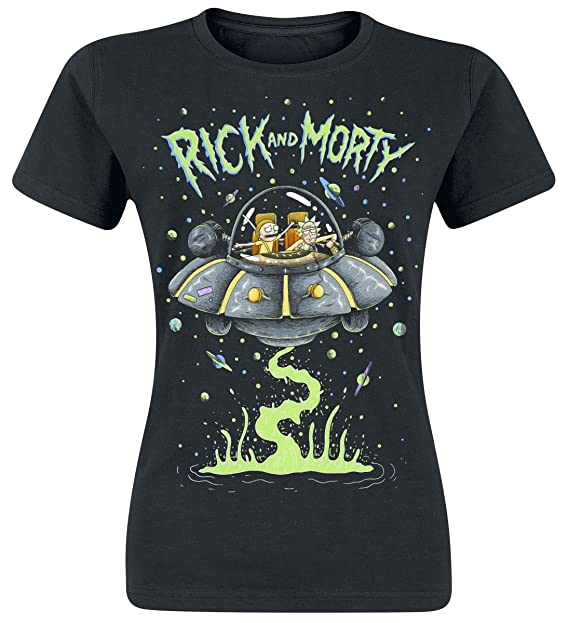 Rick and Morty Peace Among Worlds Camiseta Azul Marino aOh3ZwZ
