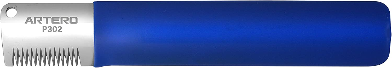 Artero. Cuchilla Japonesa de Stripping para Zurdos (Azul-Diente Ancho)