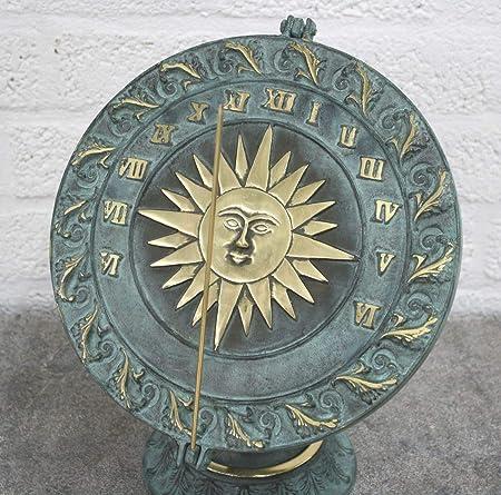 Reloj De Sol De Bronce: Amazon.es: Jardín