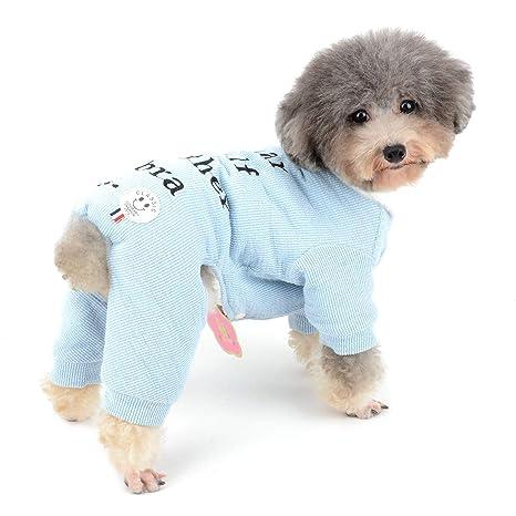 Zunea - Mono de Punto para Perro, para Perros, Chicas, Cachorros, suéteres