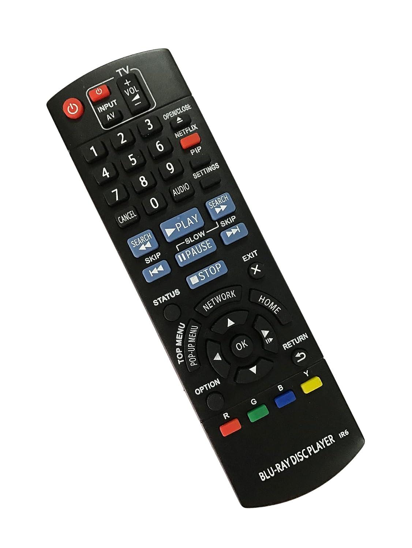 Replacement Remote Controller use for DMP-BD87 N2QAYB000575 DMP-BD755  DMP-BD91 Panasonic Blu-Ray Disc Player