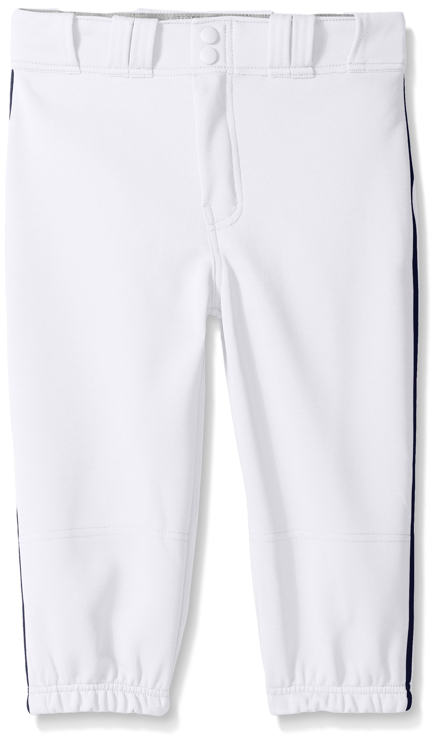 Easton Boys PRO Plus Piped Knicker, White/Navy, Small