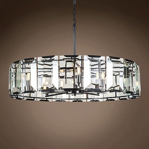 Amazon.com: Emerald - Lámpara de techo colgante de cristal ...