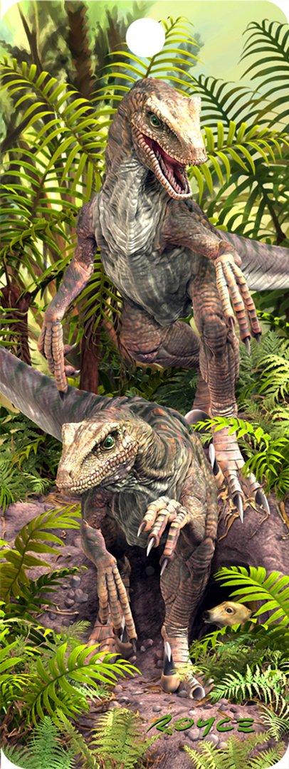 """""""Raptors Bad Boys"""" - 3D Bookmark Cheatwell Games BK73BAD"""