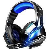 ゲーミングヘッドセット 高音質 ヘッドホン 軽量 ヘッドセット マイク付き ゲーム用 ヘッドフォン 有線 3.5mm 5.1ch FPS pcゲーム ps4に対応