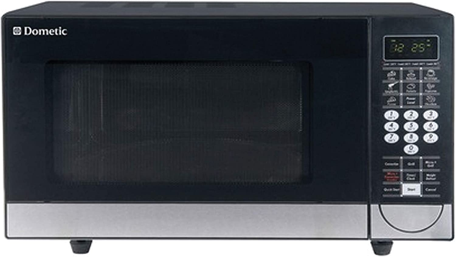 Dometic DCMC11B.F Convection Microwave Oven, Black