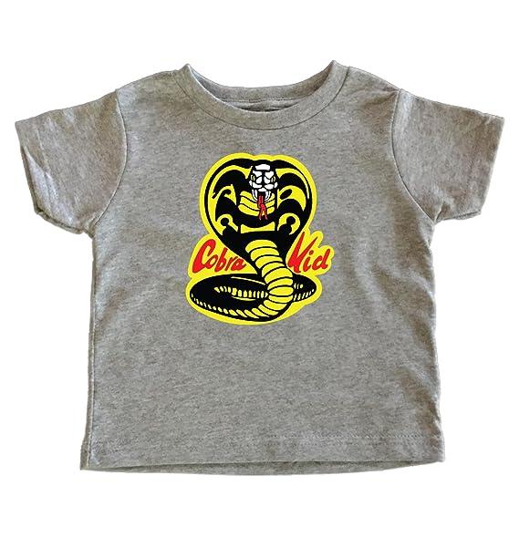 Teenow Cobra Kid Karate Toddler T Shirt 2t Grey