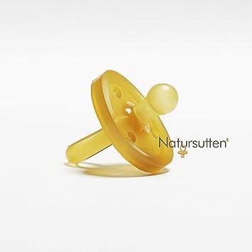Amazon.com: Natursutten Chupón de hule natural, sin ...
