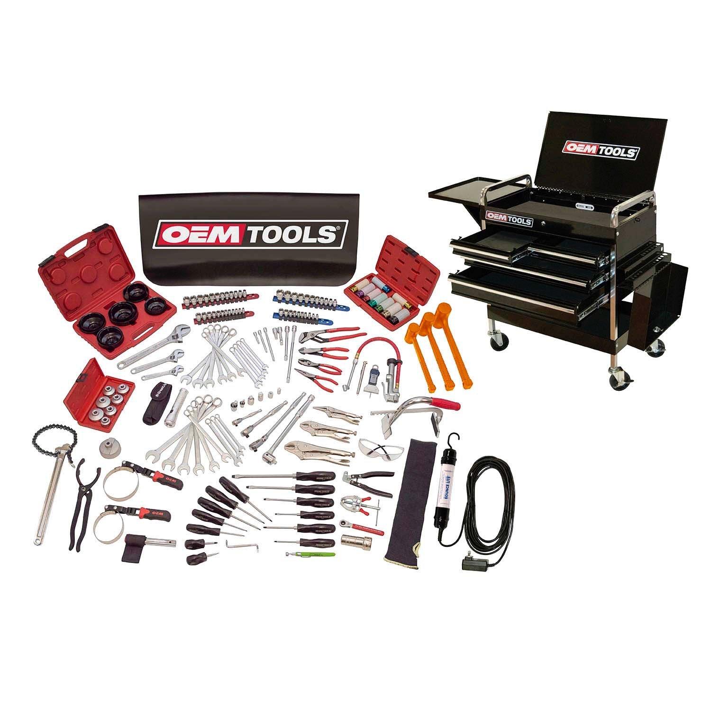 OEMTools 24965 Lube Techスターターセット、160ピース B01K8PCSM4