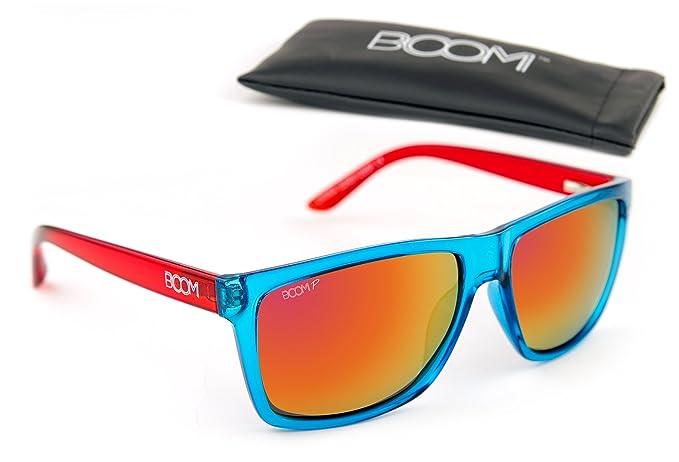 cd6ebc66b1e1 Amazon.com  Boom Surge Polarized Sunglasses by Dimensional Optics - ACID  TRIP  Clothing