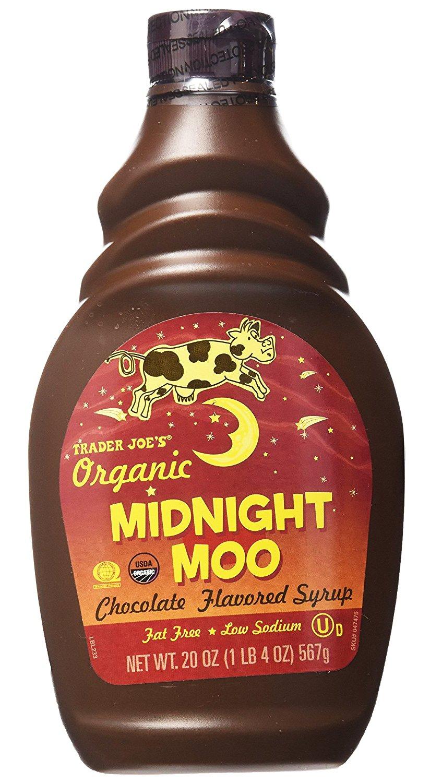 Trader Joe's Organic Midnight Moo Chocolate Flavored Syrup 20oz