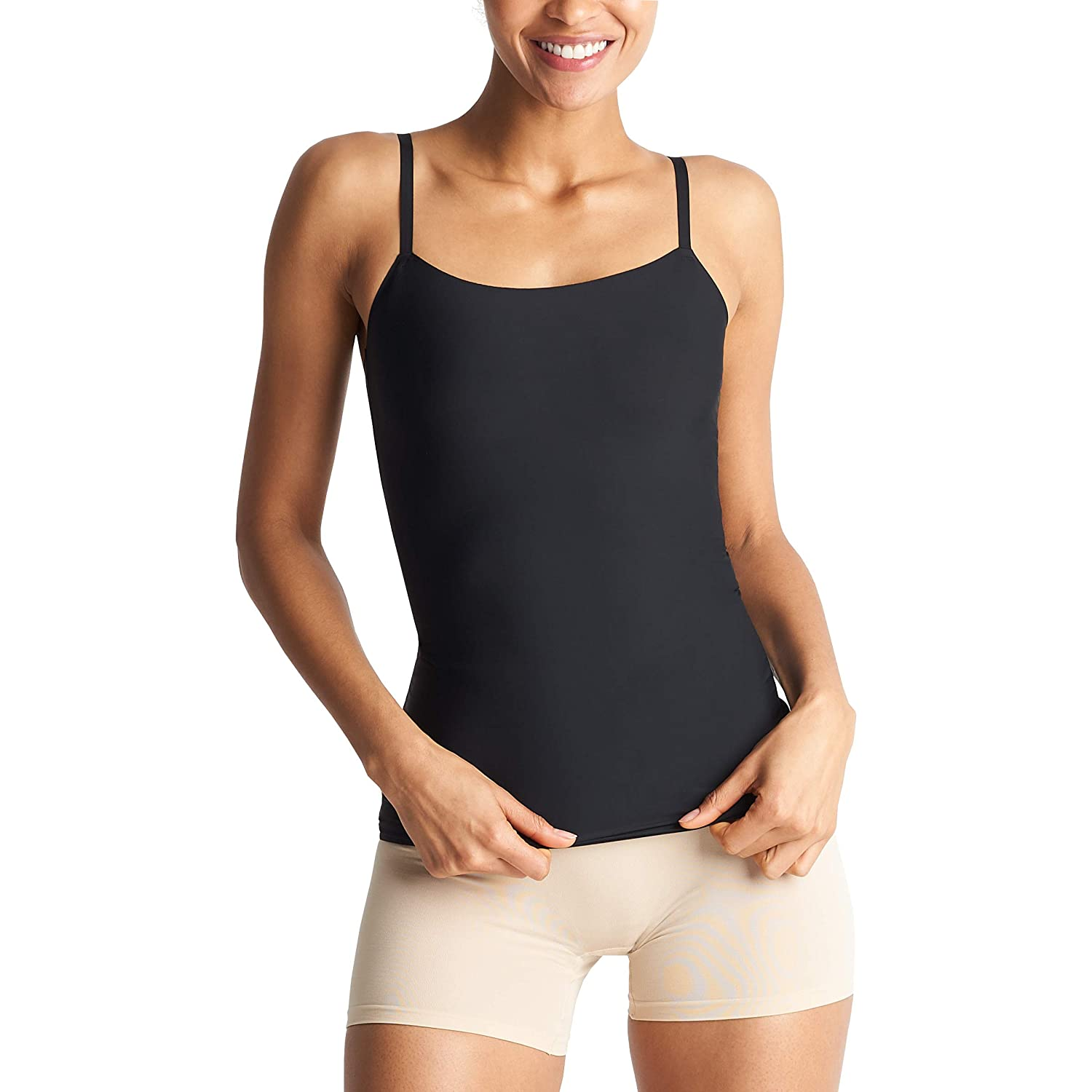 Black Yummie Womens 3in1 Shaping Camisole Shapewear Top