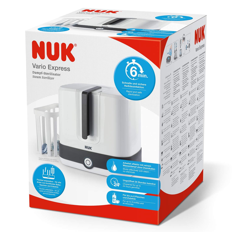 Nuk - Esterilizador del Biberón y Accesorios Eléctrico