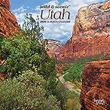 Utah Wild & Scenic 2020 7 x 7 Inch Monthly Mini
