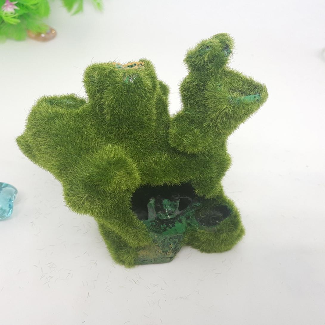 SO-buts Cojín para acuario, decorado con mosis-imitación para pecera, acuario, decoración: Amazon.es: Productos para mascotas