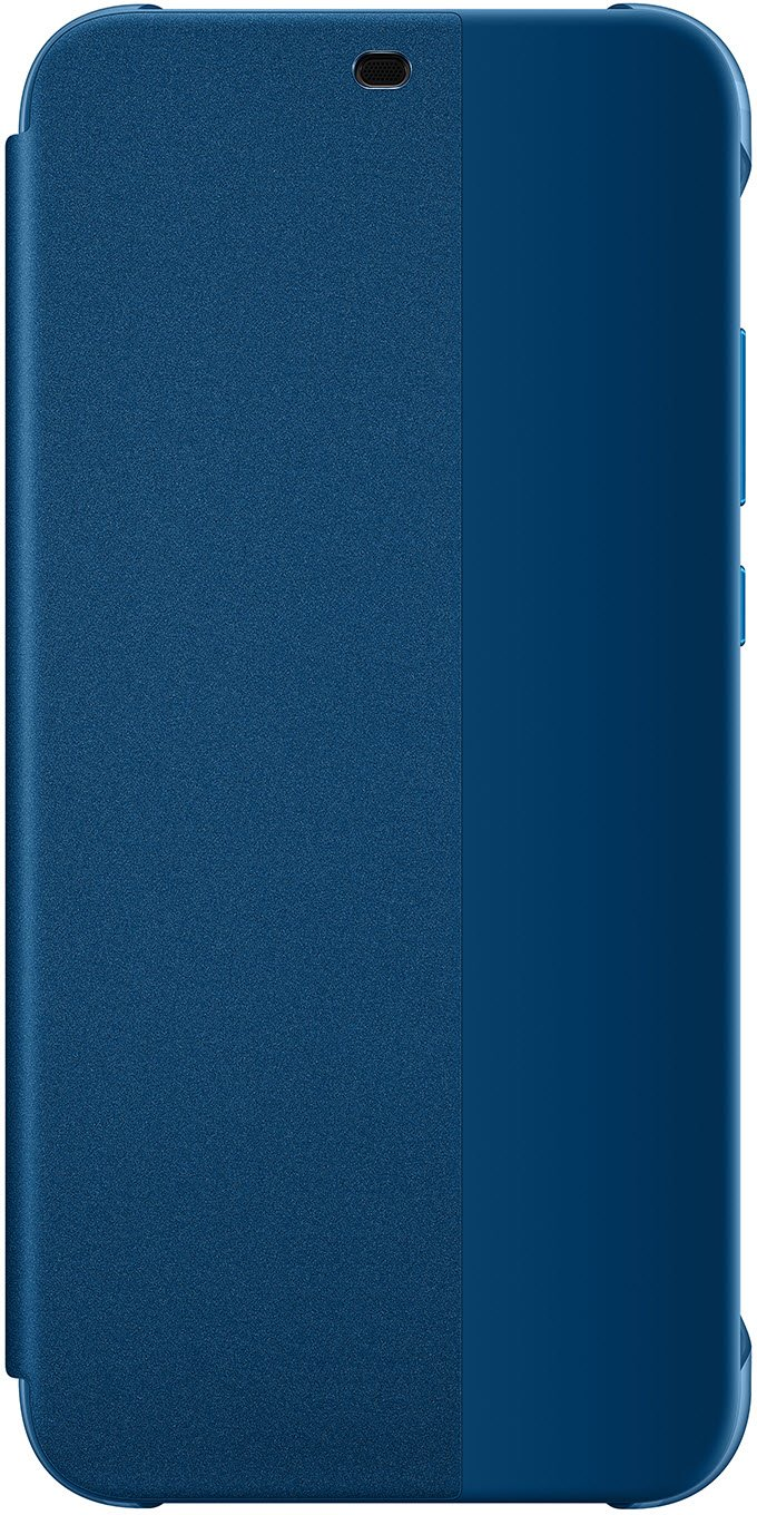 new style c5284 800fa Huawei P20 Lite - Smart View Flip Cover, Blue - suitable for Huawei P20 Lite