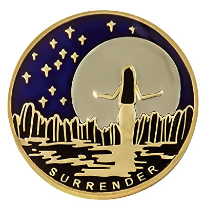 Surrender Painted Medallion: Toys & Games