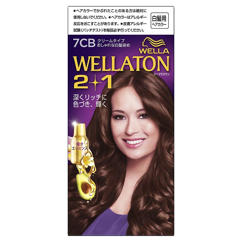 ウエラトーン2+1 白髪染め クリームタイプ 7CB [医薬部外品] ×6個 B07GKVMPWF