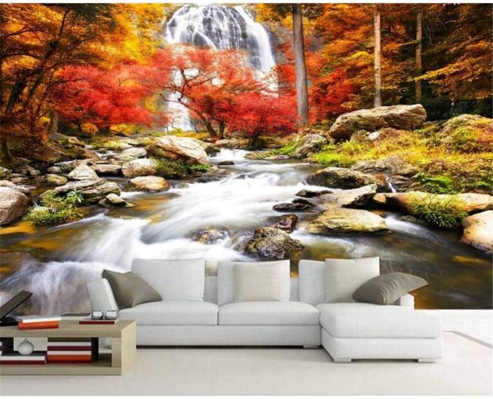 foto de YYBHTM Fond D'Écran HD Or Paysage d'automne D'Érable Beau Mur De ...