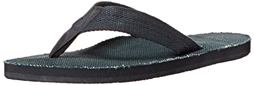 eeb66276ecce Rainbow Sandals Mens Hemp Eco-Sandals - Black Medium