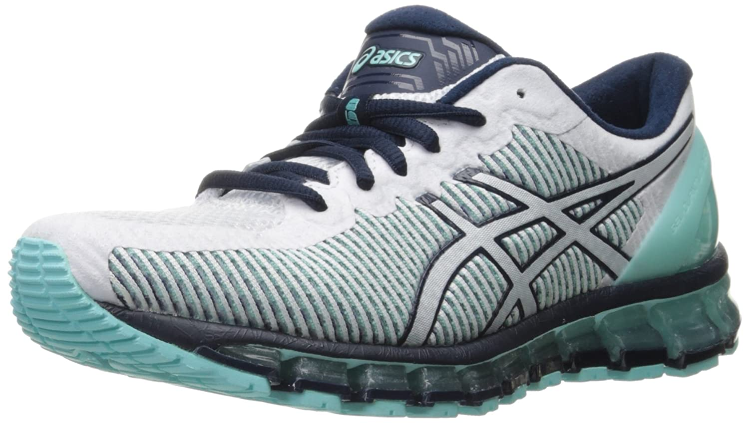ASICS Women's Gel-Quantum 360 cm Running Shoe B017TFRQ5A 10 B(M) US|Aruba Blue/White/Dark Navy